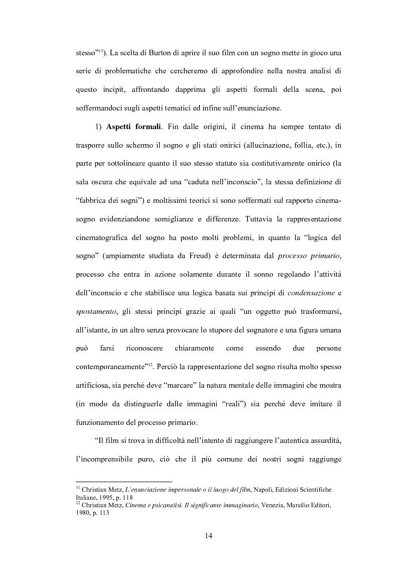 Anteprima della tesi: La fiaba autoriflessiva: il cinema di Tim Burton, Pagina 12