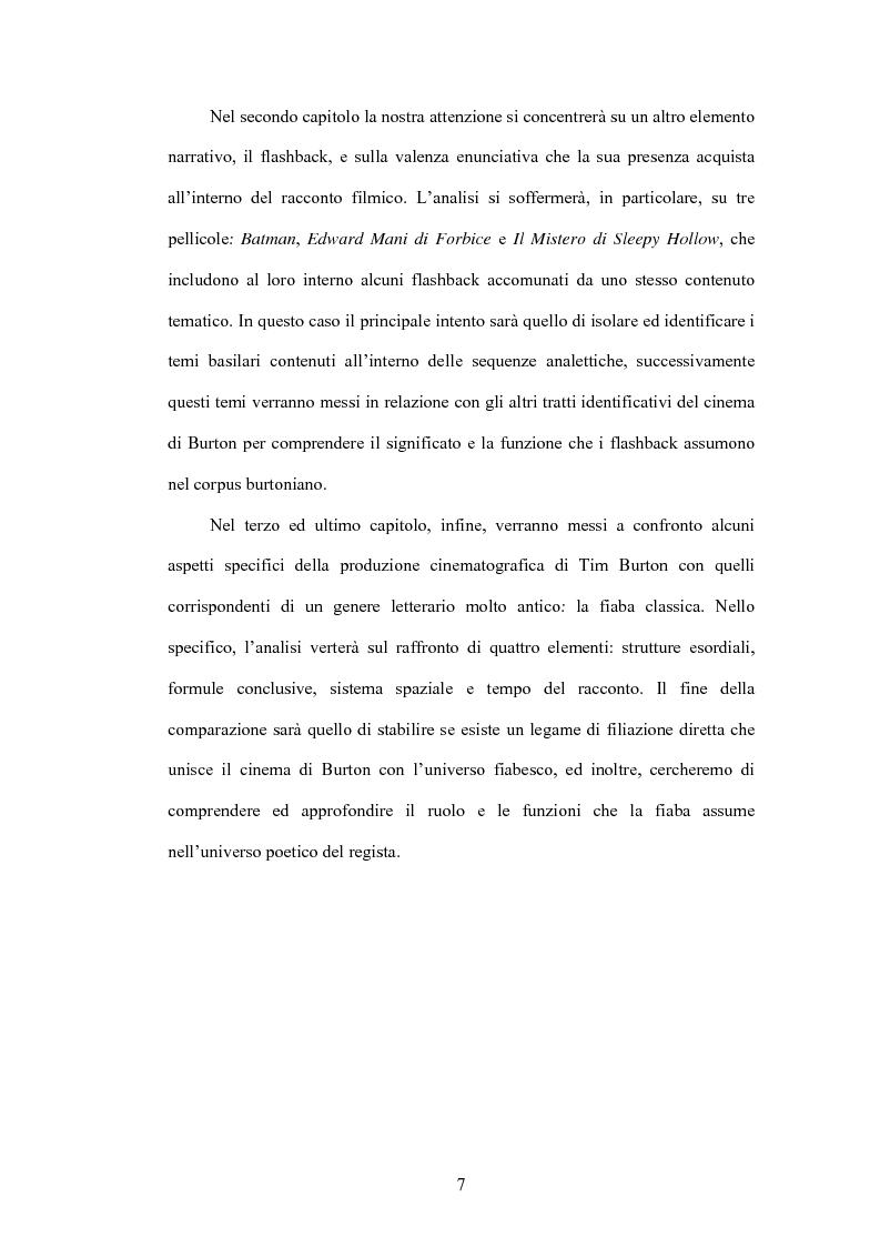 Anteprima della tesi: La fiaba autoriflessiva: il cinema di Tim Burton, Pagina 5