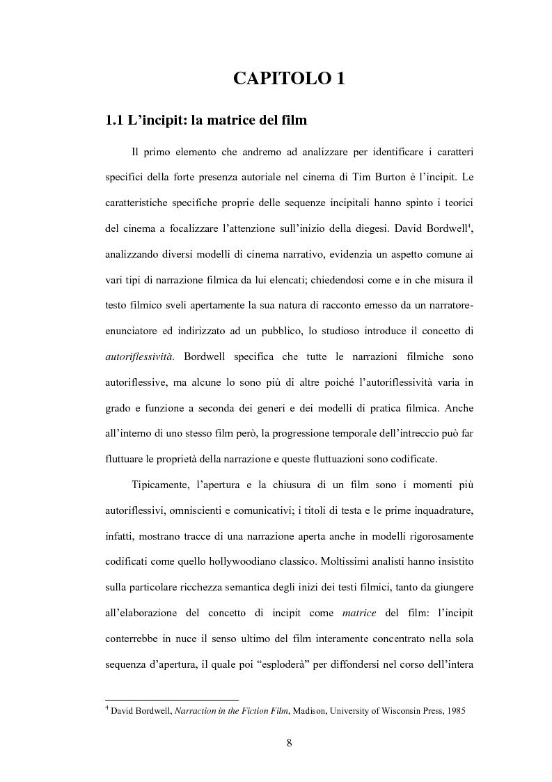 Anteprima della tesi: La fiaba autoriflessiva: il cinema di Tim Burton, Pagina 6