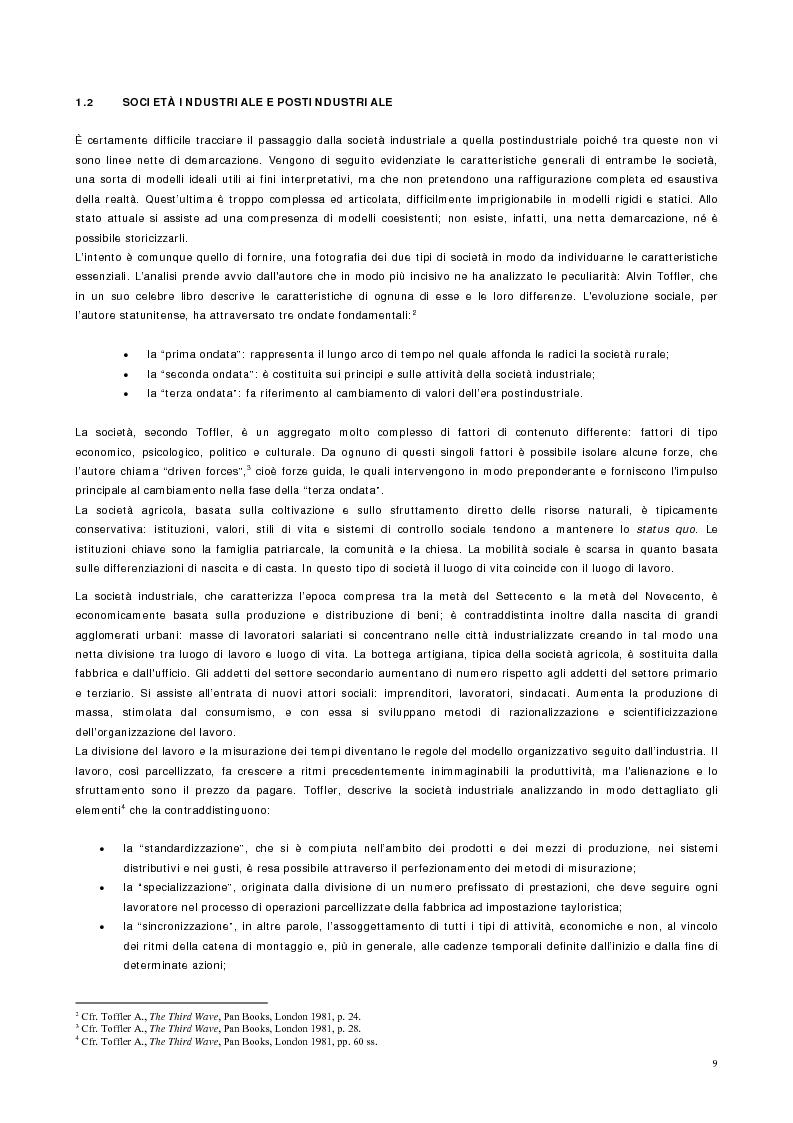Anteprima della tesi: Vantaggio competitivo, management e qualità, Pagina 5