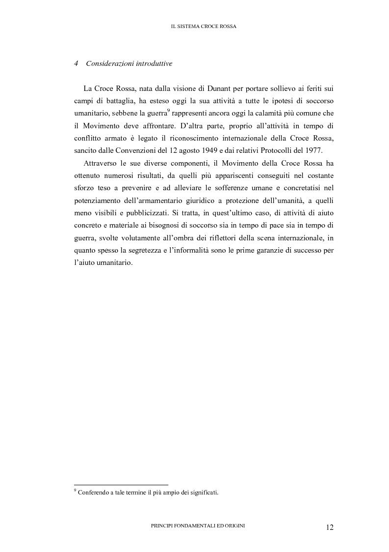 Anteprima della tesi: La tutela internazionale del simbolo di Croce Rossa, Pagina 11