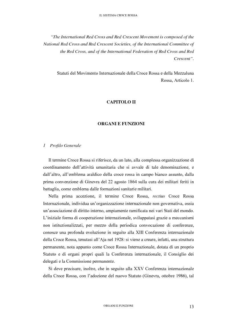 Anteprima della tesi: La tutela internazionale del simbolo di Croce Rossa, Pagina 12