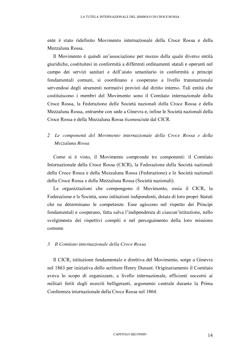 Anteprima della tesi: La tutela internazionale del simbolo di Croce Rossa, Pagina 13
