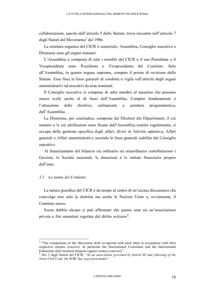 Anteprima della tesi: La tutela internazionale del simbolo di Croce Rossa, Pagina 15