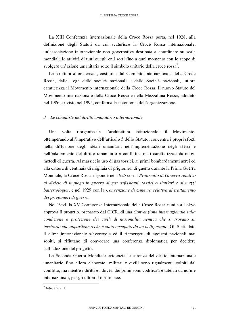 Anteprima della tesi: La tutela internazionale del simbolo di Croce Rossa, Pagina 9