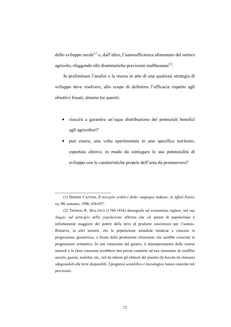 Anteprima della tesi: Il ruolo dell'Operation Flood nello sviluppo del settore lattiero caseario in India, Pagina 10