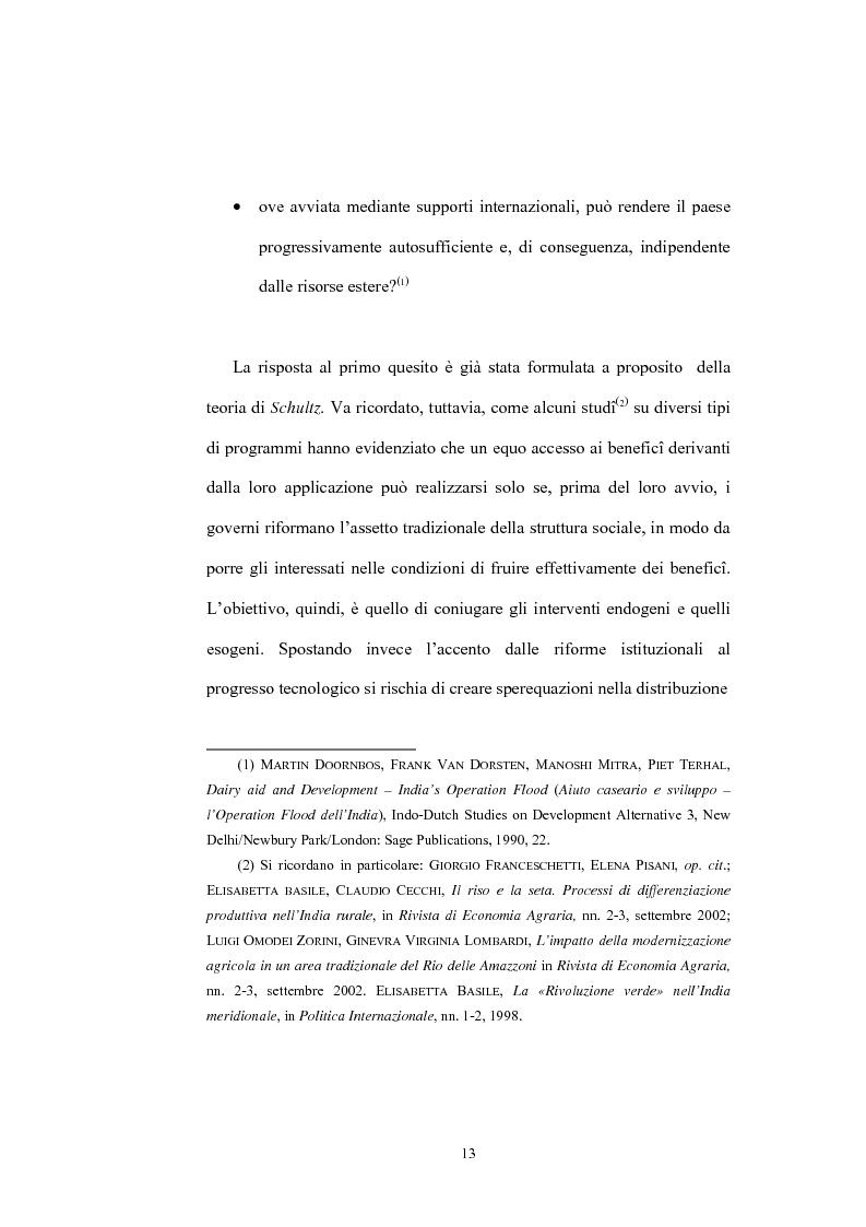Anteprima della tesi: Il ruolo dell'Operation Flood nello sviluppo del settore lattiero caseario in India, Pagina 11