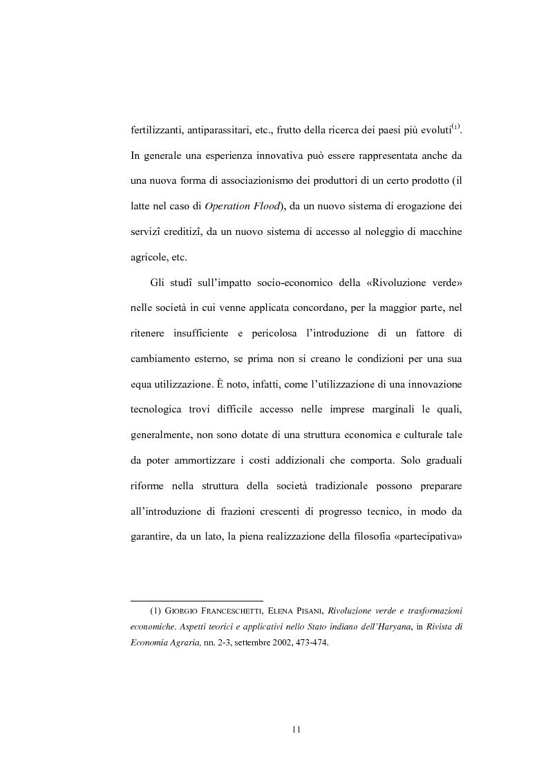 Anteprima della tesi: Il ruolo dell'Operation Flood nello sviluppo del settore lattiero caseario in India, Pagina 9