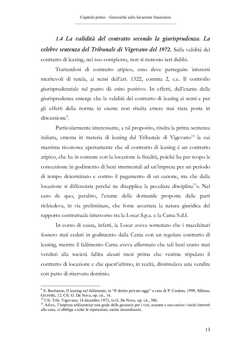 Anteprima della tesi: Il contratto di leasing, Pagina 13