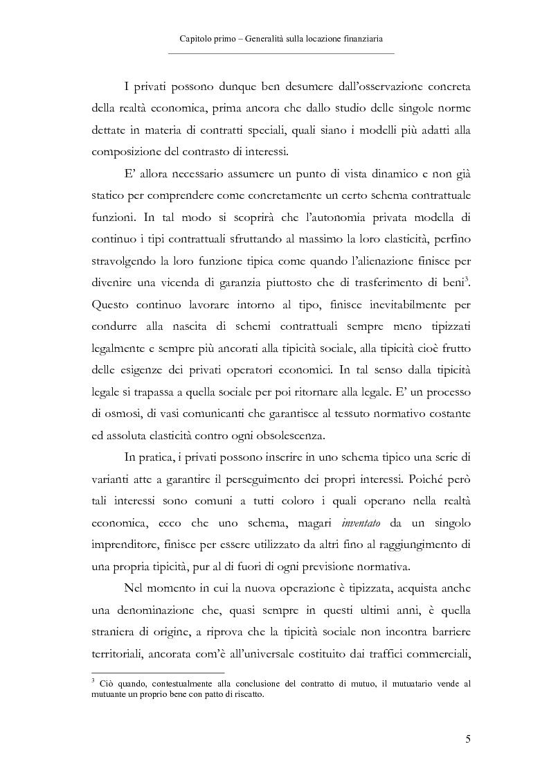 Anteprima della tesi: Il contratto di leasing, Pagina 5