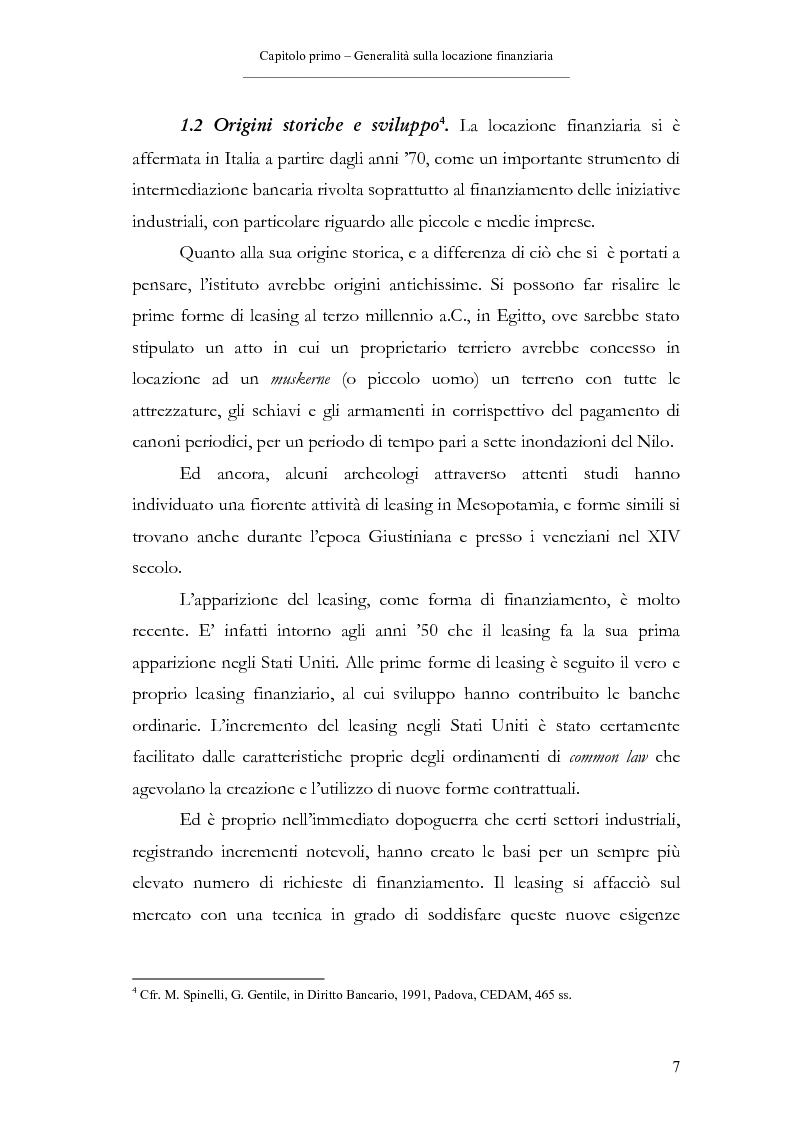 Anteprima della tesi: Il contratto di leasing, Pagina 7