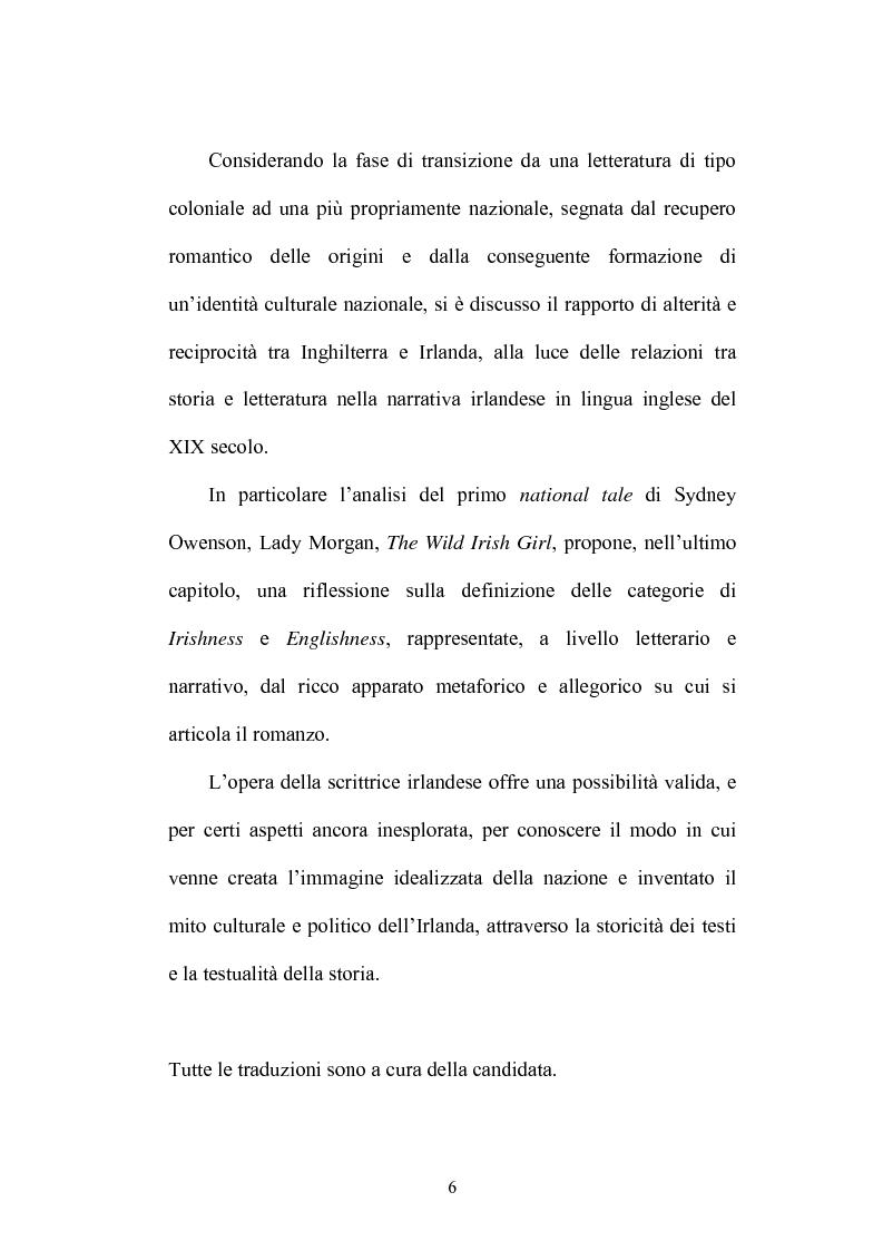 Anteprima della tesi: Inventing Ireland. Problemi di storiografia letteraria, Pagina 3