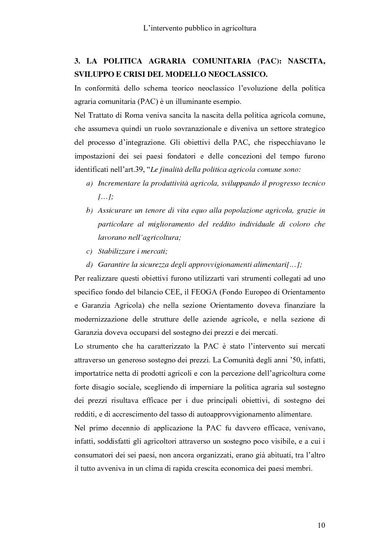 Anteprima della tesi: Interventi pubblici per la sicurezza alimentare, Pagina 12