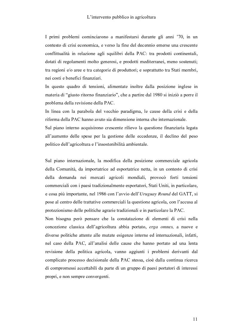 Anteprima della tesi: Interventi pubblici per la sicurezza alimentare, Pagina 13