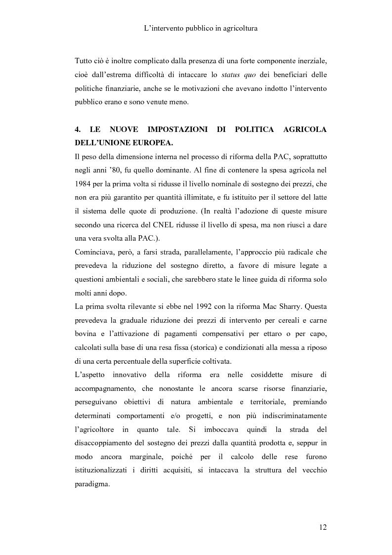 Anteprima della tesi: Interventi pubblici per la sicurezza alimentare, Pagina 14