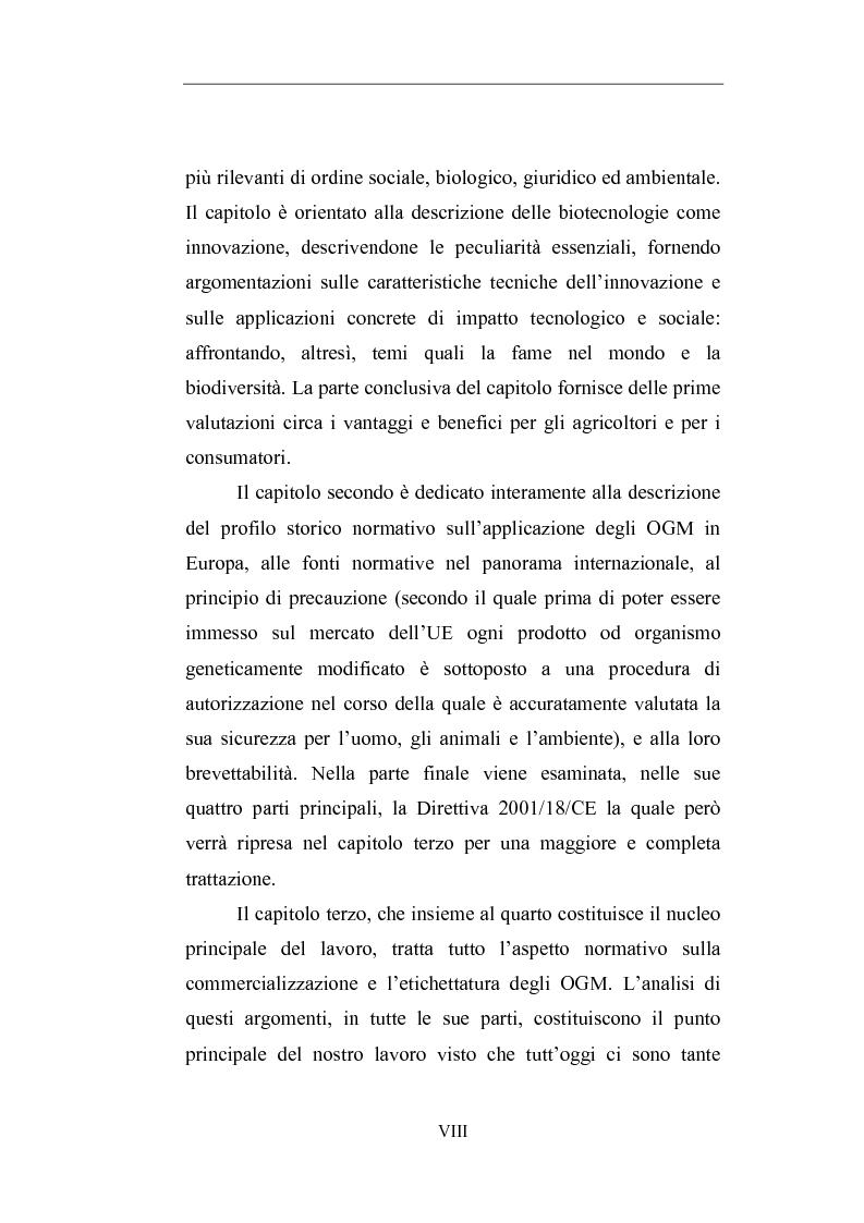 Anteprima della tesi: Gli Organismi Geneticamente Modificati (OGM), Pagina 3