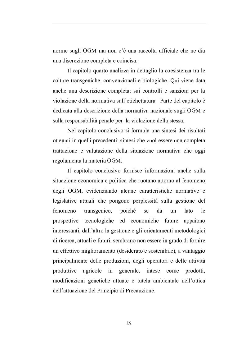 Anteprima della tesi: Gli Organismi Geneticamente Modificati (OGM), Pagina 4