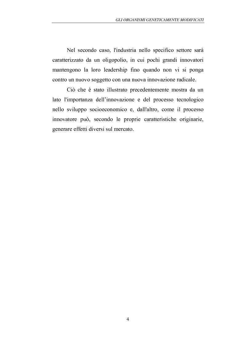 Anteprima della tesi: Gli Organismi Geneticamente Modificati (OGM), Pagina 8