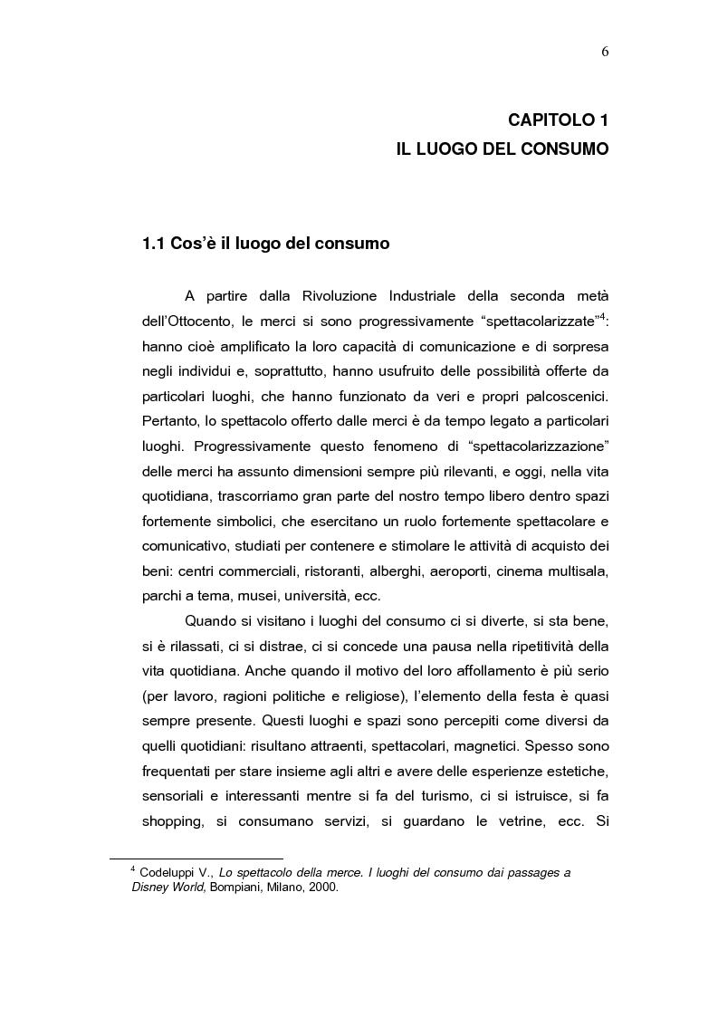 Anteprima della tesi: L'aeroporto come luogo del consumo: il caso Fiumicino., Pagina 4