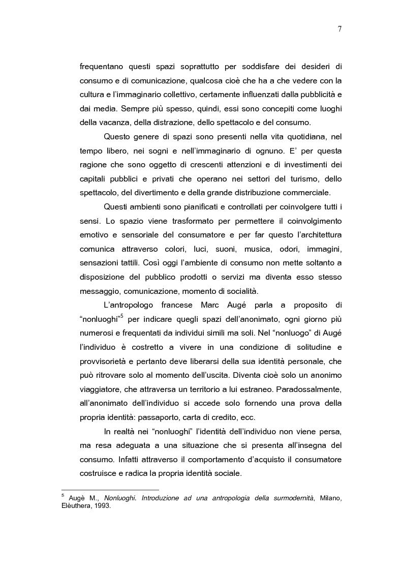 Anteprima della tesi: L'aeroporto come luogo del consumo: il caso Fiumicino., Pagina 5