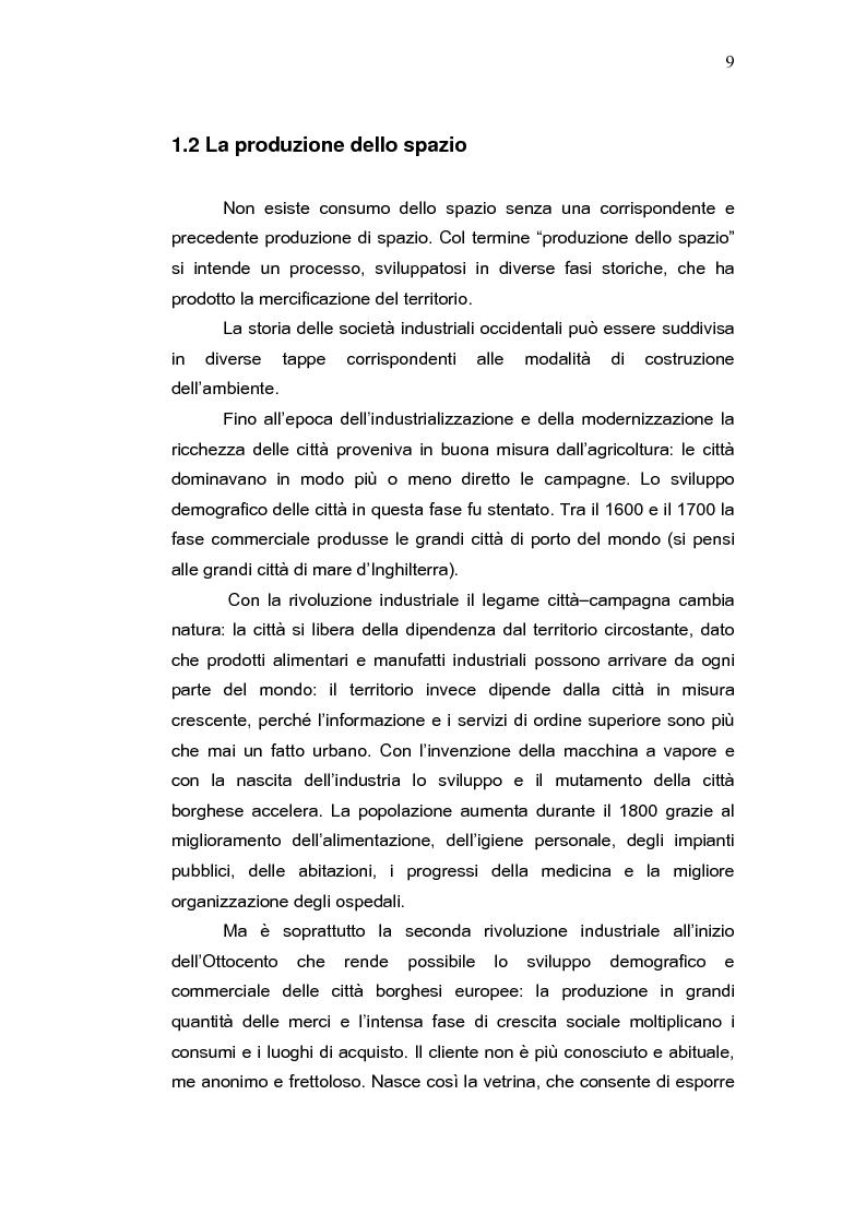 Anteprima della tesi: L'aeroporto come luogo del consumo: il caso Fiumicino., Pagina 7