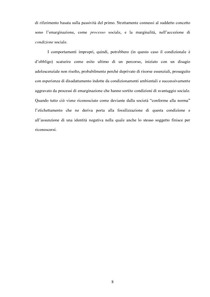 Anteprima della tesi: La prevenzione del crimine e la pubblica amministrazione, Pagina 6
