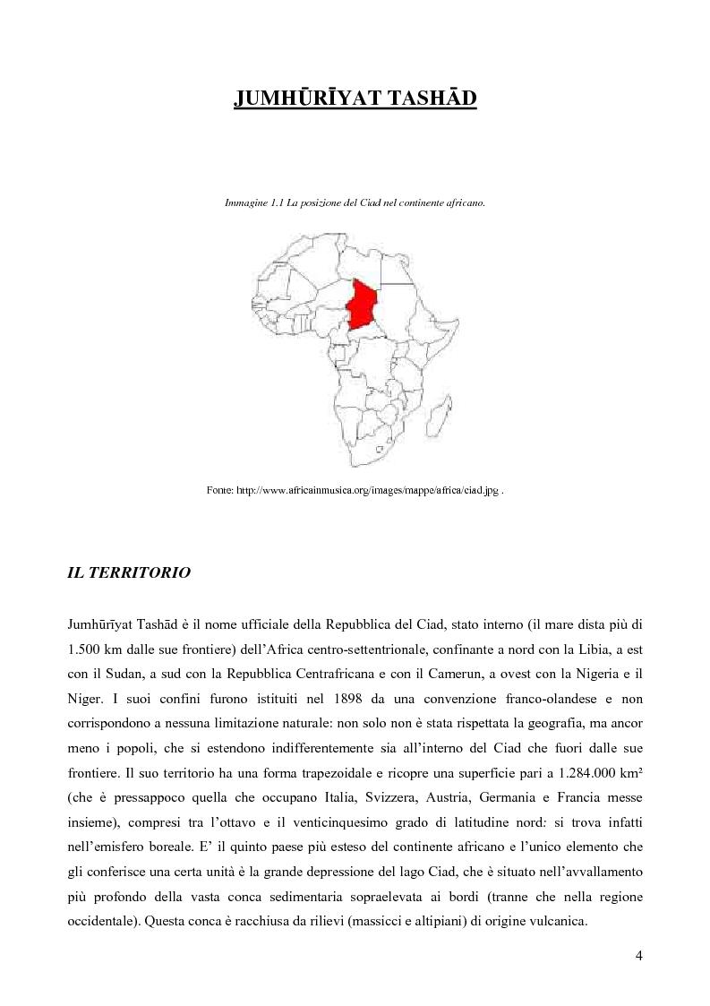 """Anteprima della tesi: I Toubou del Ciad, """"razza fossile vivente"""": valutazioni sul turismo etnologico esistente e potenziale, Pagina 4"""