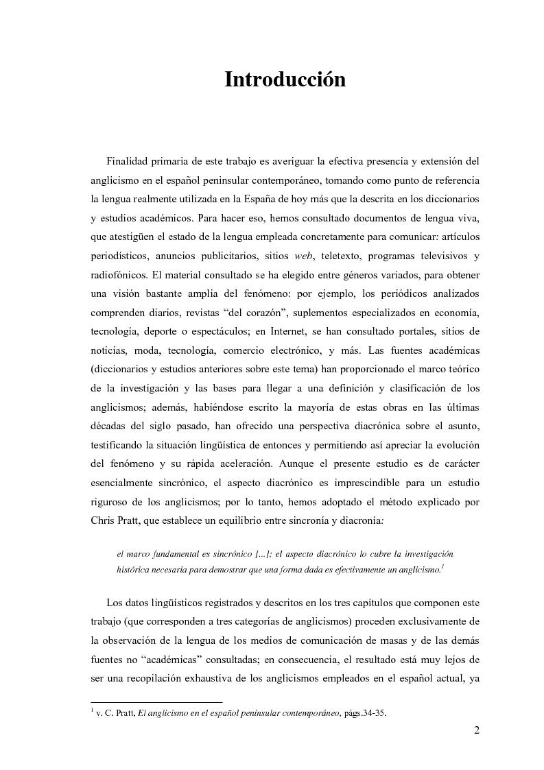 La influencia de la lengua inglesa en el español contemporáneo