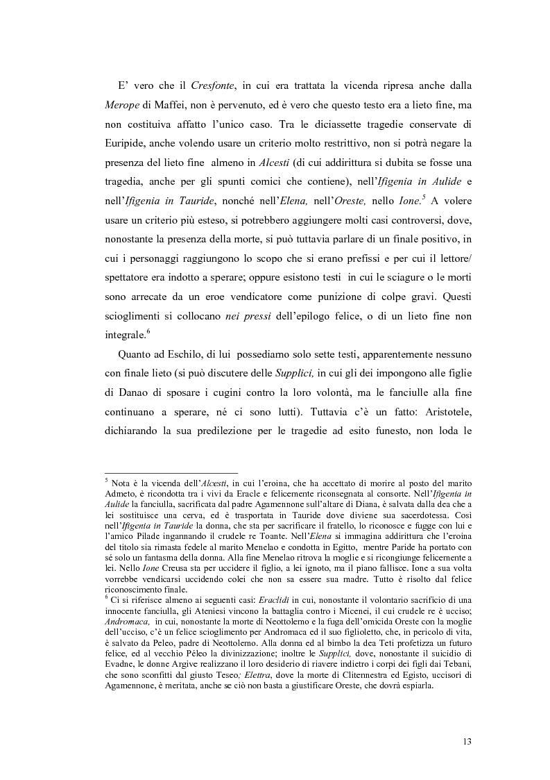 Anteprima della tesi: Tragedie a lieto fine del primo Settecento, Pagina 11