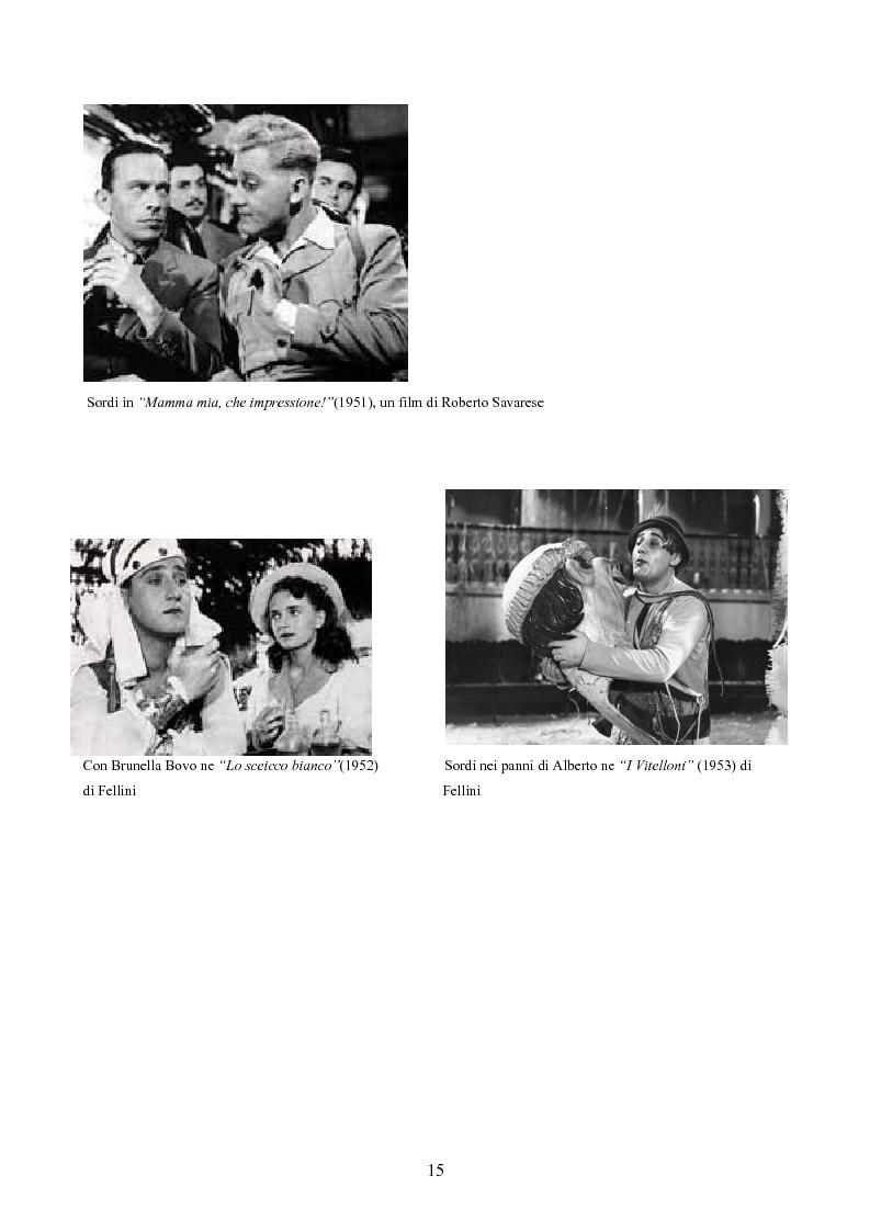 Anteprima della tesi: Tre personaggi etici del cinema di Alberto Sordi: Il vigile, Una vita difficile, Il commissario, Pagina 12