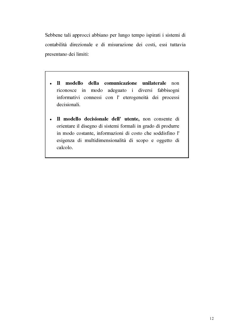 Anteprima della tesi: La reigegnerizzazione dei processi di controllo e gestione attraverso le tecnologie informatiche, Pagina 11
