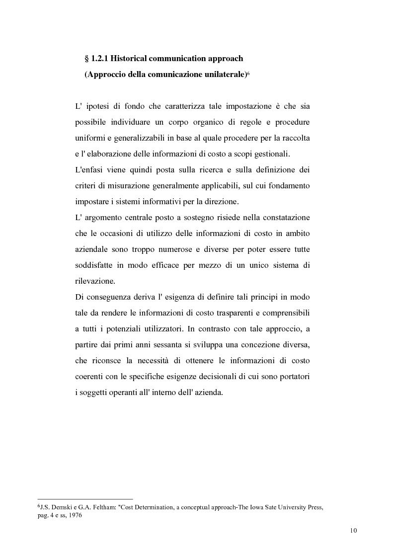 Anteprima della tesi: La reigegnerizzazione dei processi di controllo e gestione attraverso le tecnologie informatiche, Pagina 9