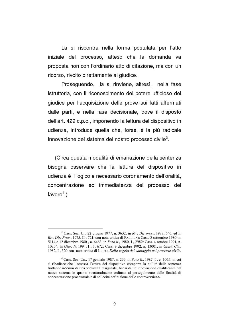 Anteprima della tesi: L'art. 429, terzo comma, c.p.c. , nella legislazione e nella giurisprudenza più recenti, Pagina 3