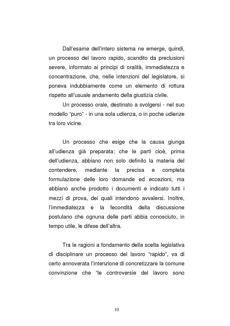 Anteprima della tesi: L'art. 429, terzo comma, c.p.c. , nella legislazione e nella giurisprudenza più recenti, Pagina 4