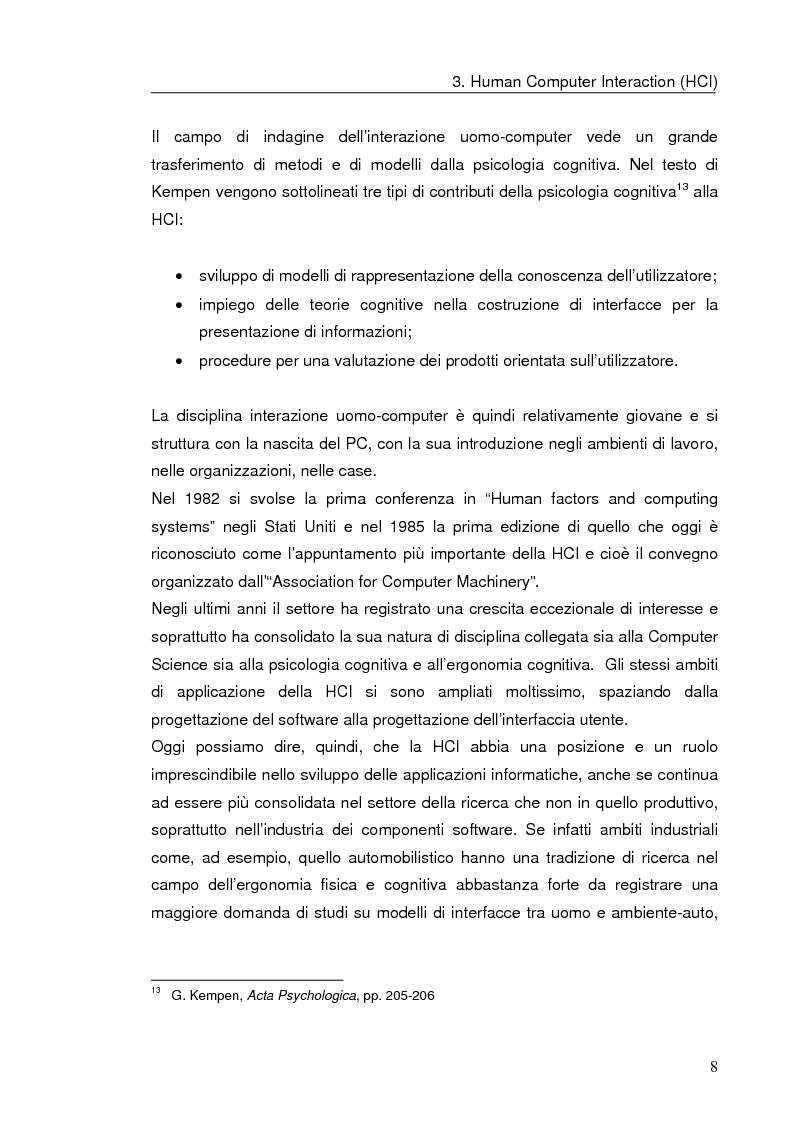 Anteprima della tesi: Interazione uomo computer nello spazio virtuale tridimensionale, Pagina 11