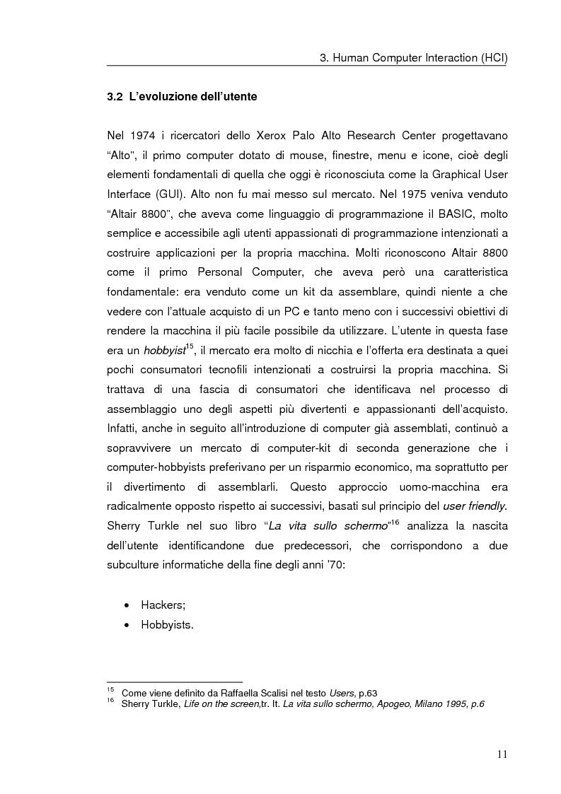 Anteprima della tesi: Interazione uomo computer nello spazio virtuale tridimensionale, Pagina 14