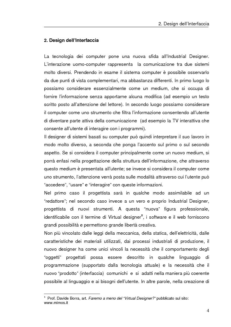 Anteprima della tesi: Interazione uomo computer nello spazio virtuale tridimensionale, Pagina 7