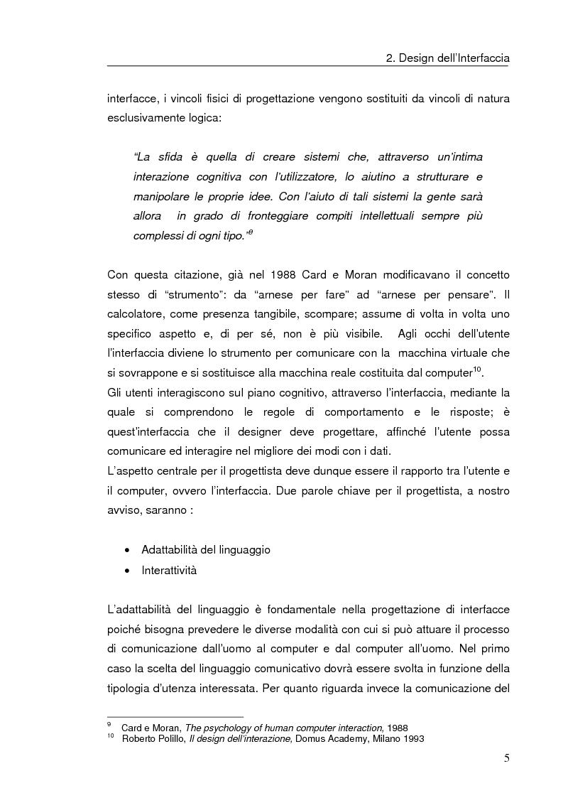 Anteprima della tesi: Interazione uomo computer nello spazio virtuale tridimensionale, Pagina 8