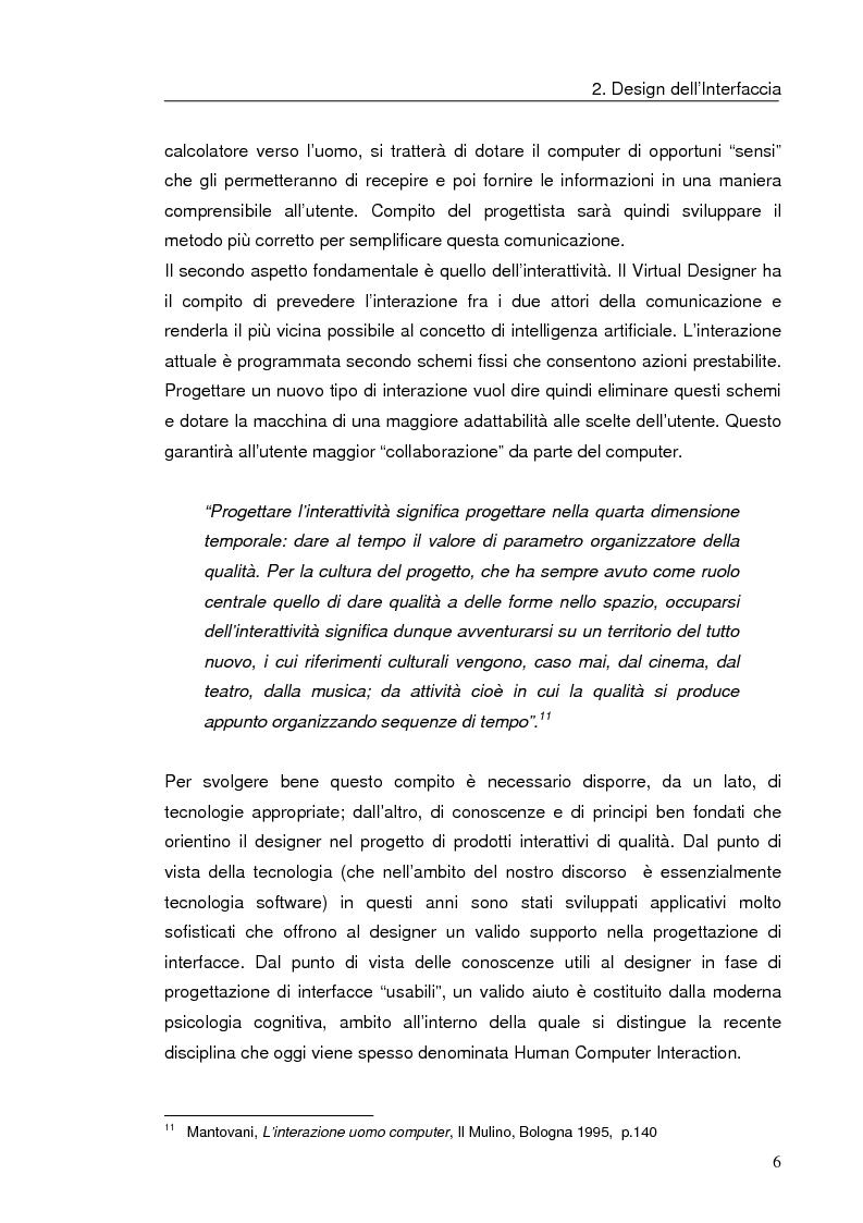 Anteprima della tesi: Interazione uomo computer nello spazio virtuale tridimensionale, Pagina 9