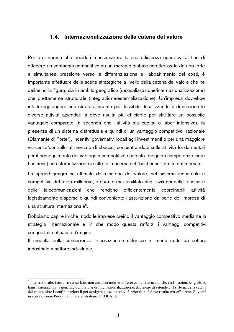 Anteprima della tesi: Strategie di internazionalizzazione e la competitività dell'est europa nel settore abbigliamento, Pagina 11