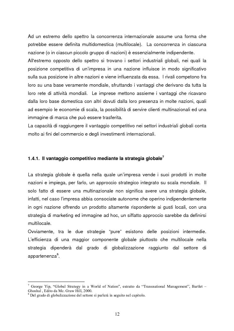 Anteprima della tesi: Strategie di internazionalizzazione e la competitività dell'est europa nel settore abbigliamento, Pagina 12