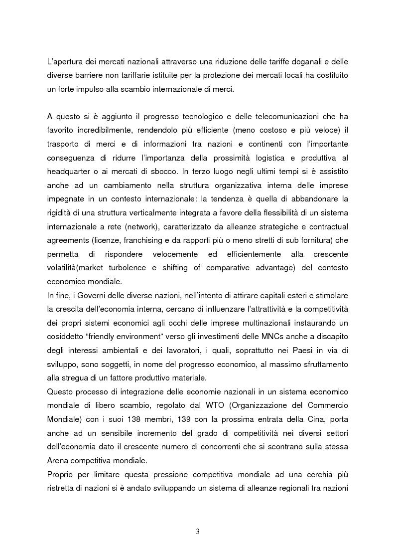Anteprima della tesi: Strategie di internazionalizzazione e la competitività dell'est europa nel settore abbigliamento, Pagina 3