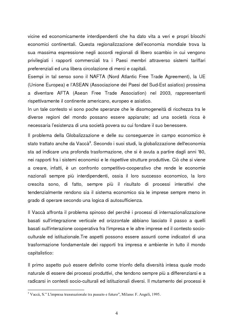 Anteprima della tesi: Strategie di internazionalizzazione e la competitività dell'est europa nel settore abbigliamento, Pagina 4