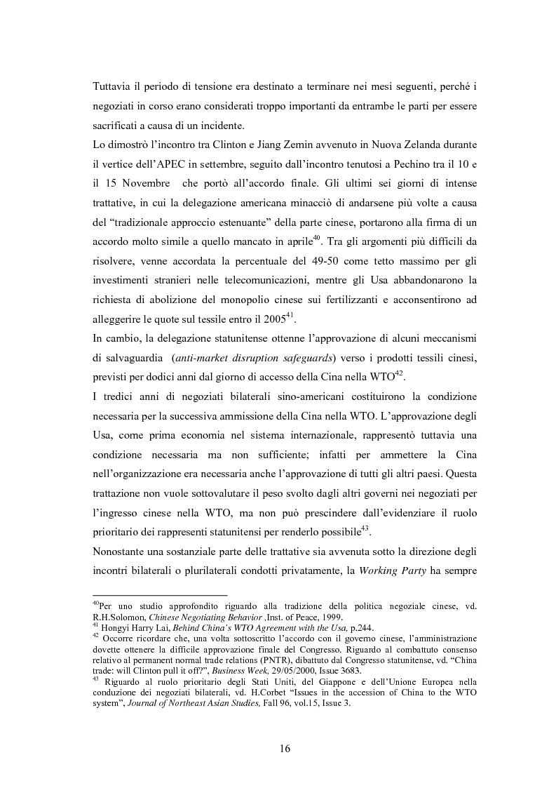 Anteprima della tesi: Problemi e prospettive di una nuova dimensione economica internazionale: la Cina nella WTO, Pagina 13