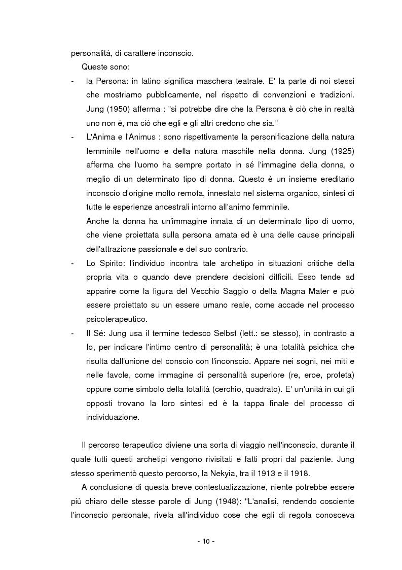 Anteprima della tesi: Il cinema parla dall'inconscio. Meccanismi di identificazione e di proiezione in due casi clinici esemplificativi di Disturbo Borderline di Personalità, Pagina 10