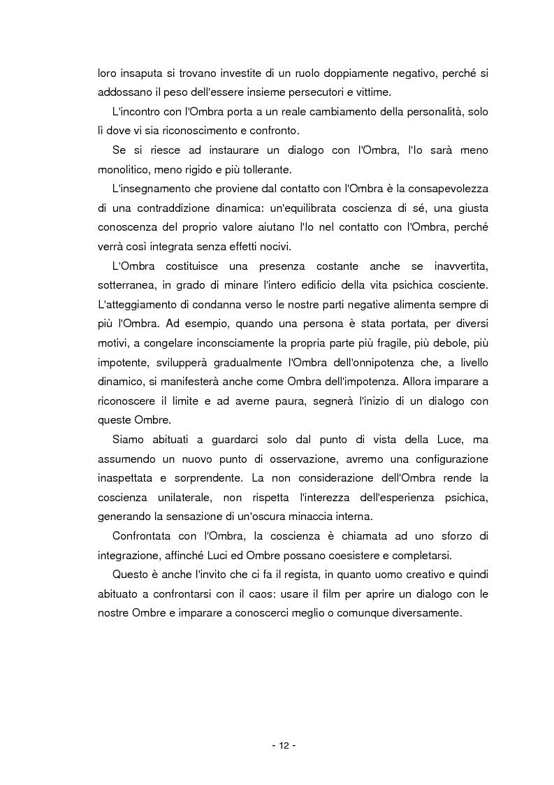 Anteprima della tesi: Il cinema parla dall'inconscio. Meccanismi di identificazione e di proiezione in due casi clinici esemplificativi di Disturbo Borderline di Personalità, Pagina 12