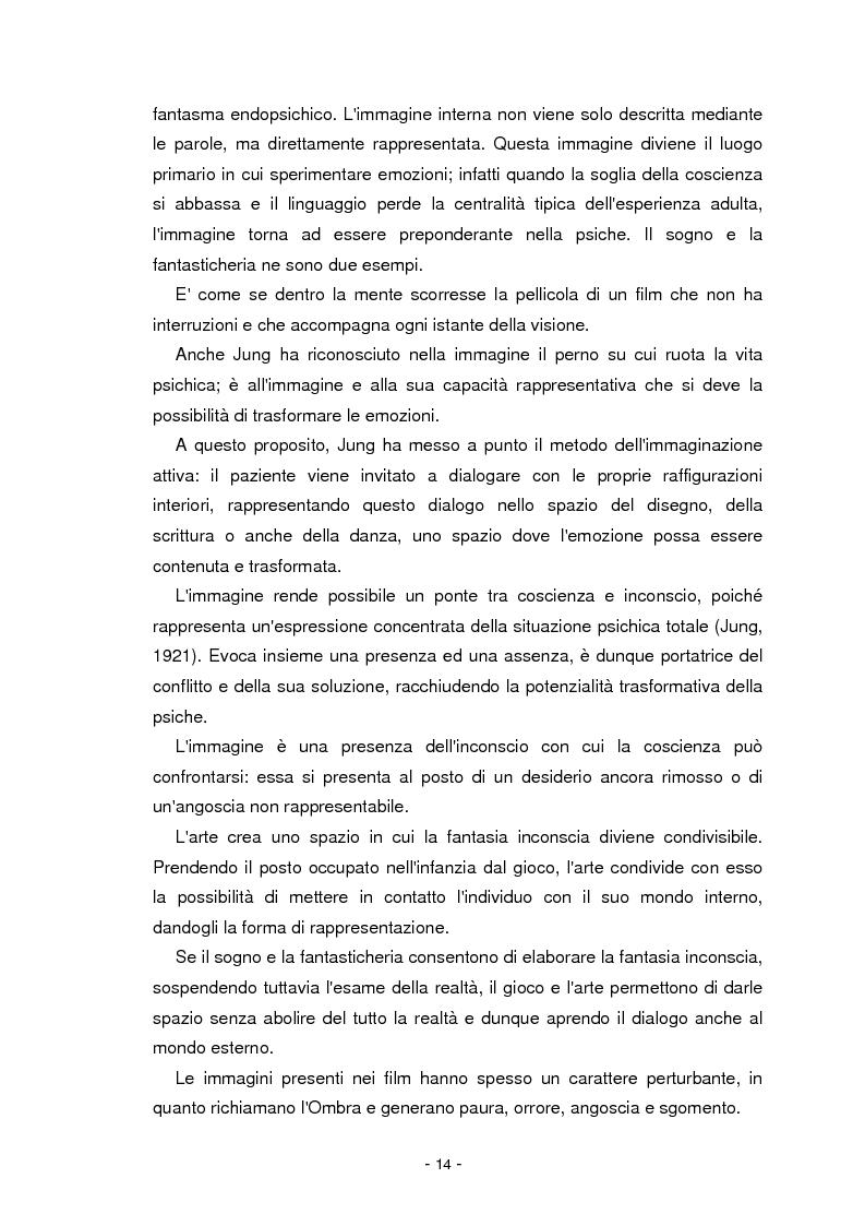Anteprima della tesi: Il cinema parla dall'inconscio. Meccanismi di identificazione e di proiezione in due casi clinici esemplificativi di Disturbo Borderline di Personalità, Pagina 14