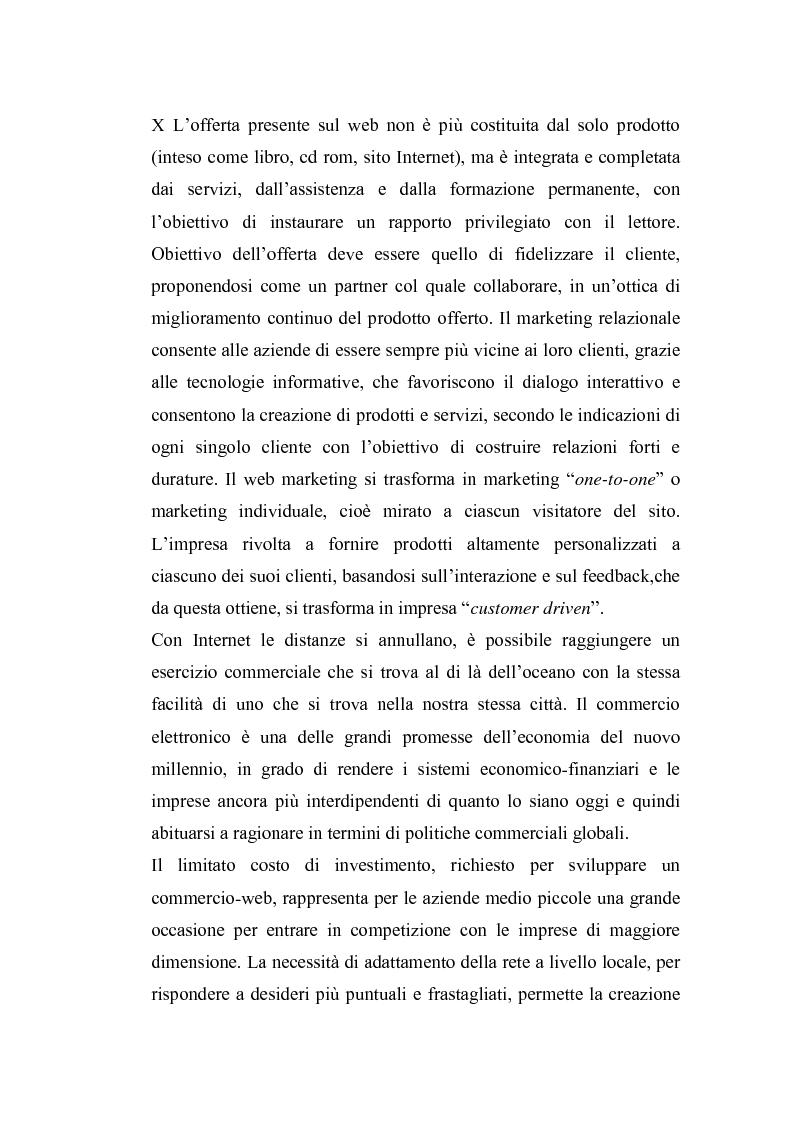 Anteprima della tesi: Il marketing librario fra la carta e la rete. Analisi della mostra mercato Umbria Libri, Pagina 4
