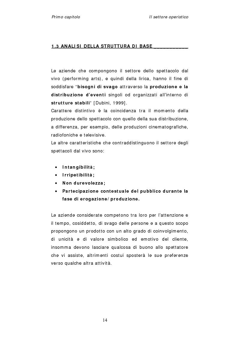 Anteprima della tesi: Dinamiche organizzative e gestionali nei teatri lirici italiani: il caso Fondazione Arena, Pagina 14