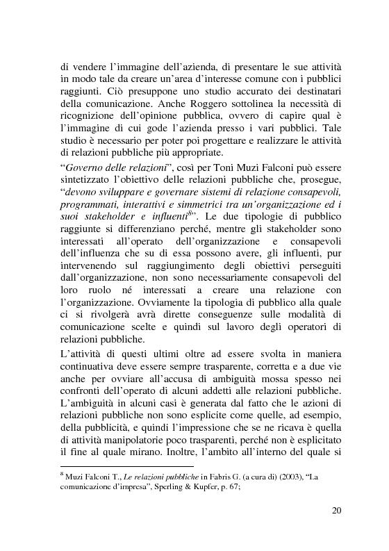 Anteprima della tesi: L'Italia dei Porti: tra evento televisivo e marketing territoriale, Pagina 11